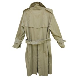 Burberry-trench Burberry vintage taille 48-Kaki