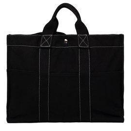Hermès-Fourre-tout-Noir