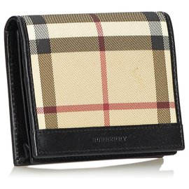Burberry-Burberry Brown Nova Check Card Holder-Brown,Multiple colors,Beige