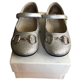 Gucci-Ballet flats-Silvery