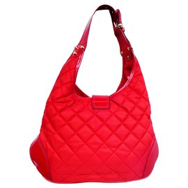 Burberry-Handbags-Red