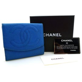 Chanel-Purses, wallets, cases-Blue