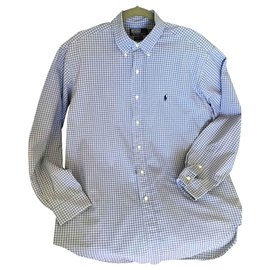 Polo Ralph Lauren-Shirts-White,Light blue,Dark blue