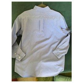 Polo Ralph Lauren-chemises-Blanc,Bleu clair,Bleu foncé