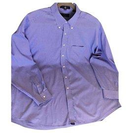 Tommy Hilfiger-chemises-Bleu clair