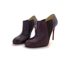 Christian Louboutin-Bottines-Marron