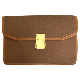 Céline-Clutch bags-Brown