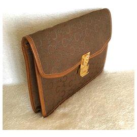 Céline-Clutch bags-Brown