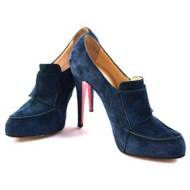 Christian Louboutin-Ankle Boots-Blue