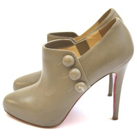 Christian Louboutin-Bottines-Beige