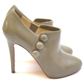 Christian Louboutin-Ankle Boots-Beige