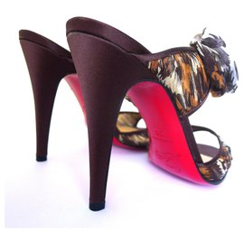 Christian Louboutin-Christian Louboutin Miss Chief Safari Sandals-Multiple colors