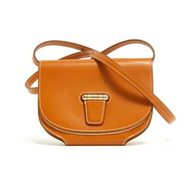 Hermès-MINI CONVOYEUR BUTLER CAMEL NEW SOLD OUT-Caramel