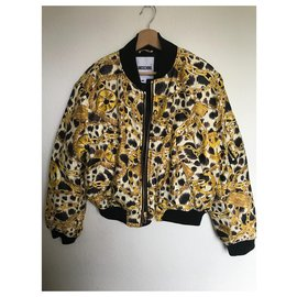 Moschino-Jackets-Yellow