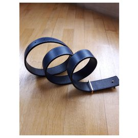 inconnue-Belts-Navy blue