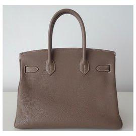 Hermès-HERMES BIRKIN BAG 30 etoupe-Other