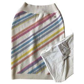 Chanel-Chanel La Pausa Skirt-White