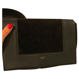 Céline-Celine frame bag-Black