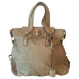 Yves Saint Laurent-Handbags-Olive green