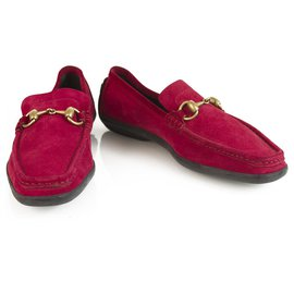 Gucci-Ballerines-Rouge