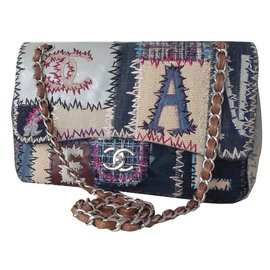 Chanel-CHANEL TIMELESS PATCHWORK BAG-Multiple colors