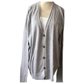 Michael Kors-Strickjacke-Grau