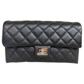 Chanel-Chanel, Pochette Ceinture 2.55-Noir