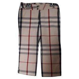 Burberry-Pantalons-Beige