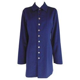 Comme Des Garcons-Wie Jungen Jacke & Rock Anzug-Marineblau