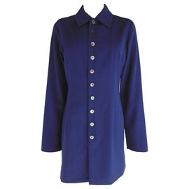 Comme Des Garcons-Comme des Garcons Jacket & Skirt Suit-Bleu Marine