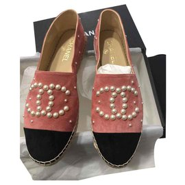 Chanel-Espadrilles Chanel-Pink