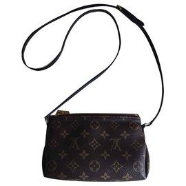 Louis Vuitton-Pochette Cross Body-Marron,Noir