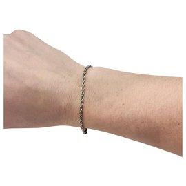 inconnue-Bracelet chaine en platine.-Autre