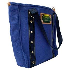 Louis Vuitton-Antigua MM-Bleu
