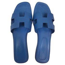 Hermès-ORAN EPSOM BLUE-Blue