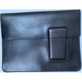 Berluti-Document holder / computer-Black