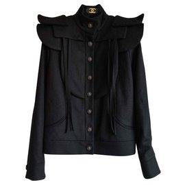 Chanel-Chanel blouson-Black