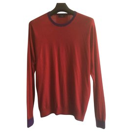 Paul Smith-Pullover-Bordeaux