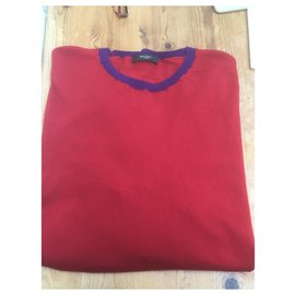 Paul Smith-Sweaters-Dark red