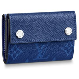 Louis Vuitton-Portefeuilles Petits accessoires-Bleu