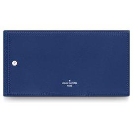 Louis Vuitton-Geldbörsen Kleines Zubehör-Blau