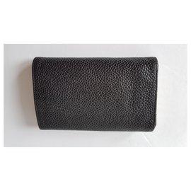Chanel-Bourses, portefeuilles, cas-Noir,Doré