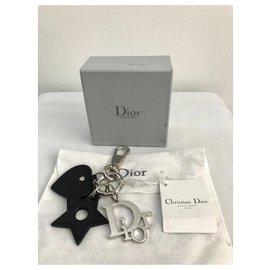 Christian Dior-Taschenanhänger-Silber