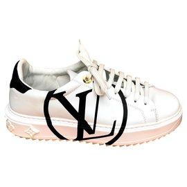 Louis Vuitton-Sneaker Time Out-Blanc