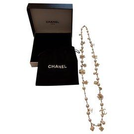 Chanel-Colliers longs-Doré