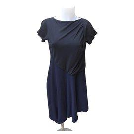 Balenciaga-Dresses-Black,Navy blue