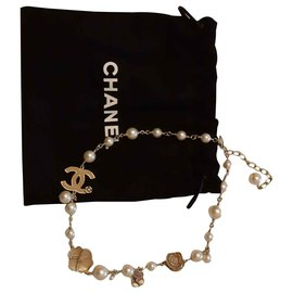 Chanel-Necklaces-Golden