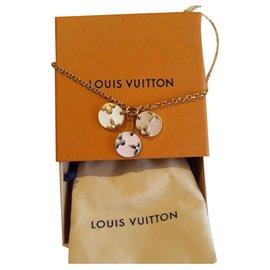 Louis Vuitton-Collier Miss LV-Doré