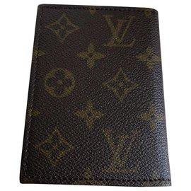 Louis Vuitton-Petite couverture de carnet-Marron