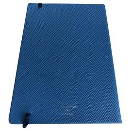 Louis Vuitton-Carnet Gustav Bleu-Bleu